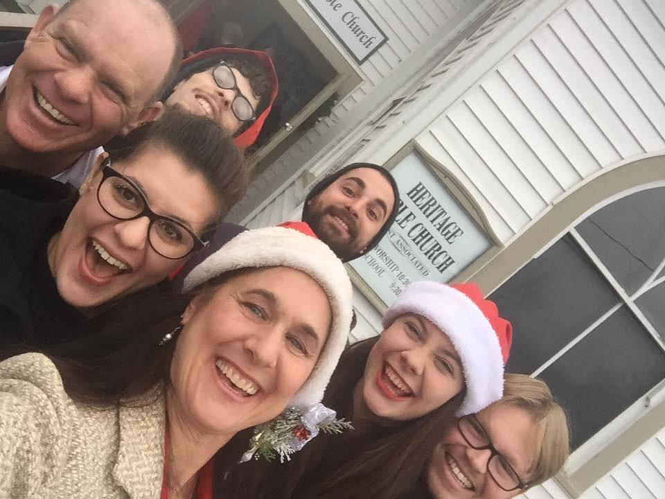 Christmas Eve Family Selfie