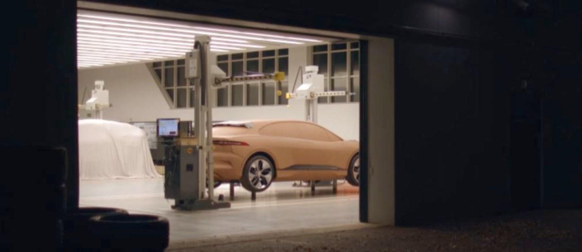 Jaguar I-Pace clay process
