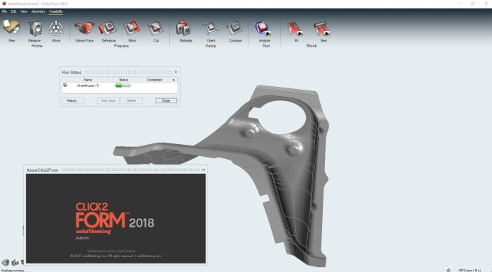 Working with solidThinking Click2Form 2018.0.855 full license