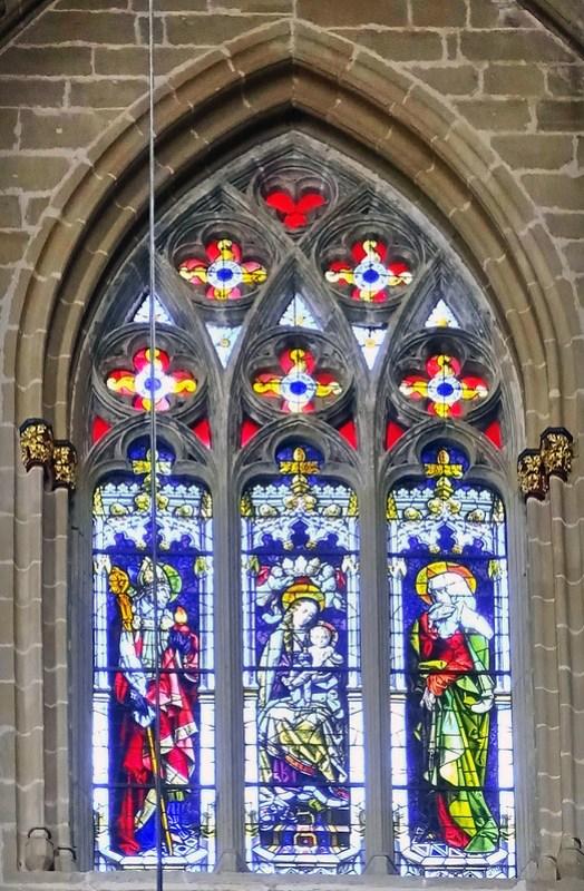 Catedral de Santa Maria La Real Vidrieras Pamplona 18