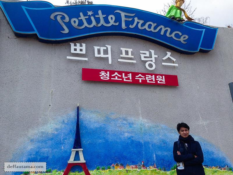 Petite France - Pintu Masuk