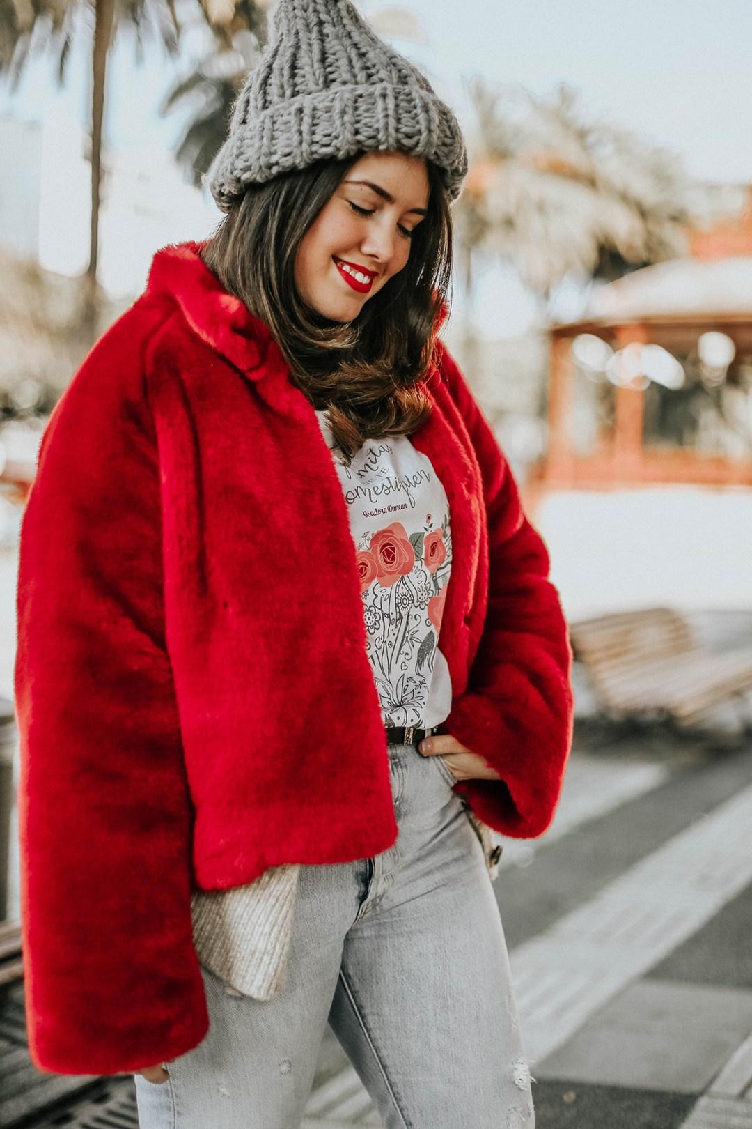 abrigo-pelo-rojo-levis-skinny-501-look-streetstyle-myblueberrynightsblog5