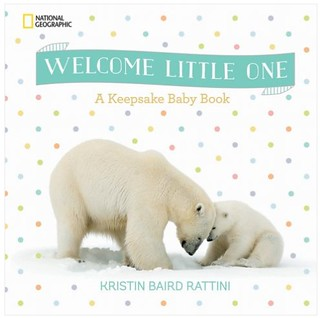 Welcome Little One Keepsake Book Giveaway