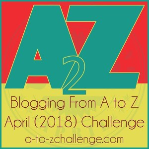 #atozchallenge badge