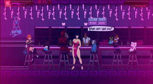Persona Black Vicious - Bar