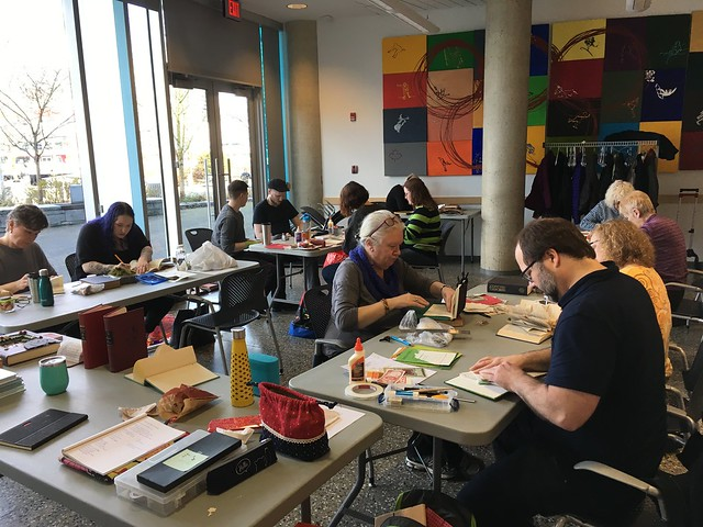 Altered book class with the CBBAG