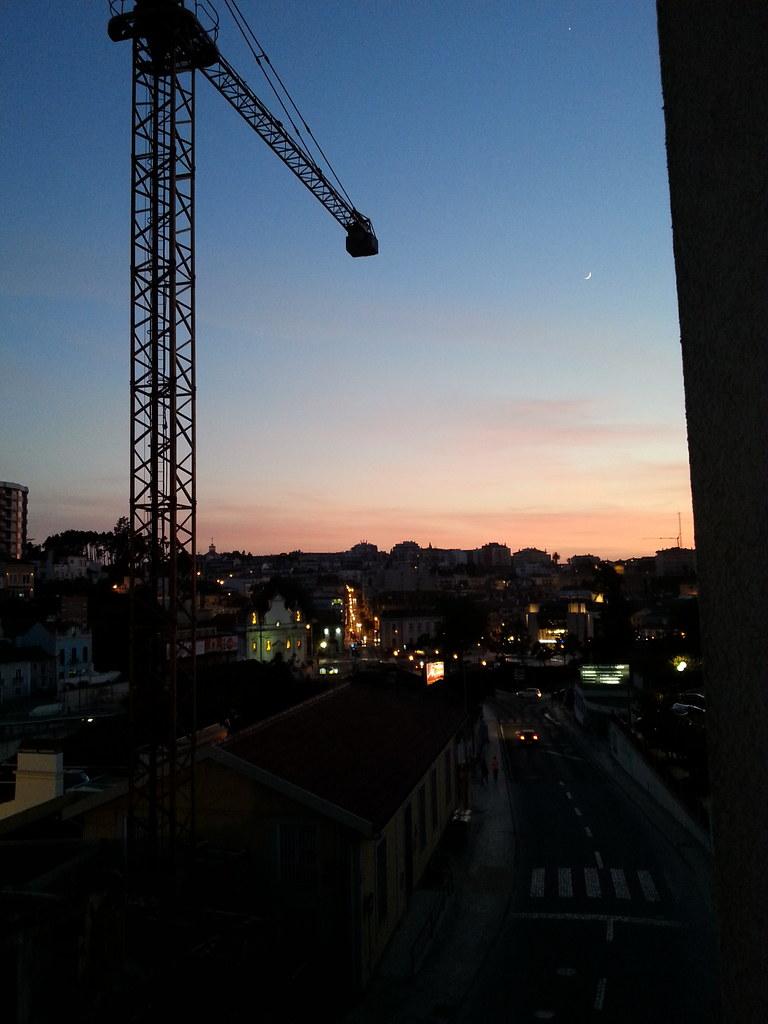 sunset in leiria 2