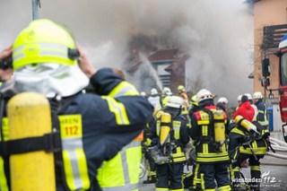 Gebäudebrand Bad Schwalbach Hettenhain 02.03.18