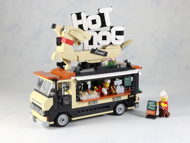 Hot Dogs Food Truck