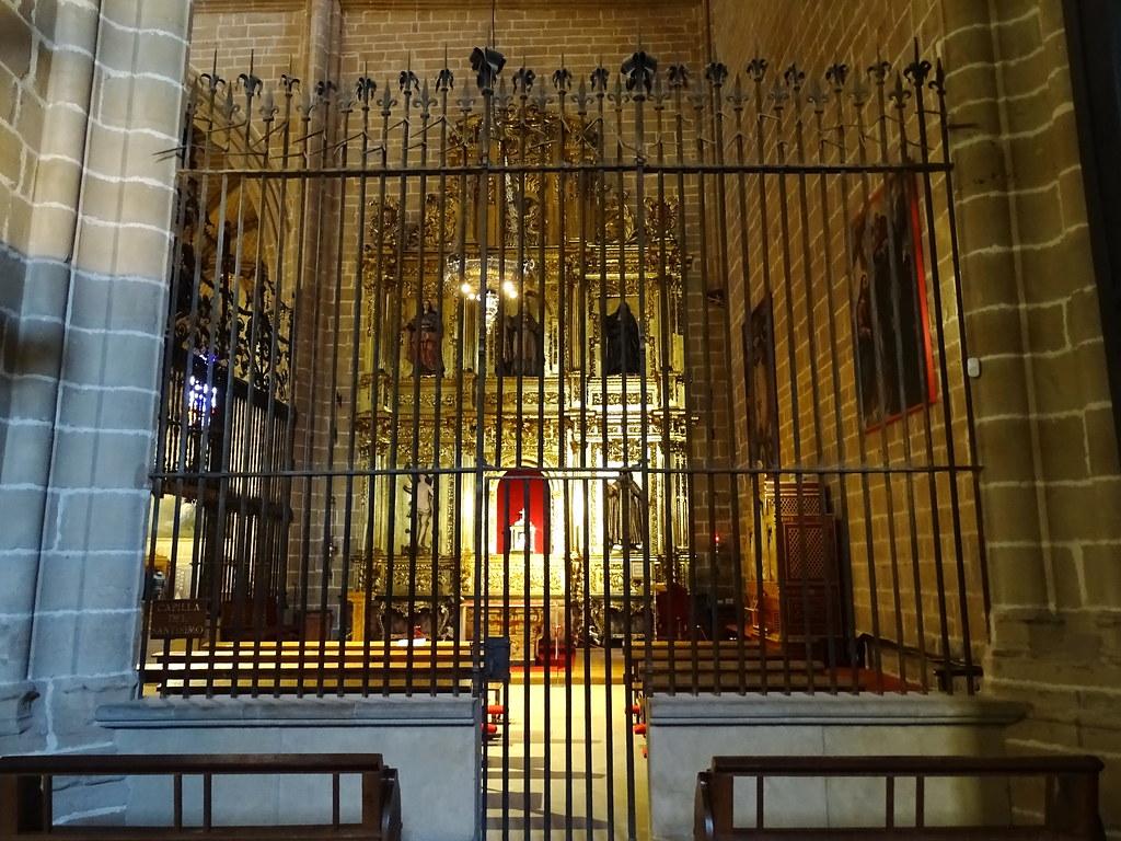 reja Capilla del Santisimo Catedral de Santa Maria La Real Pamplona