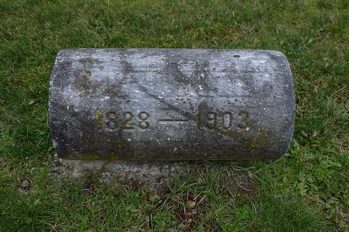 George Washington Lafayette Allen grave-002