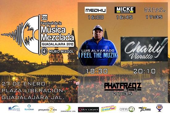 2018.01.27 2DO FESTIVAL DE MÚSICA MEZCLADA GDL 2018