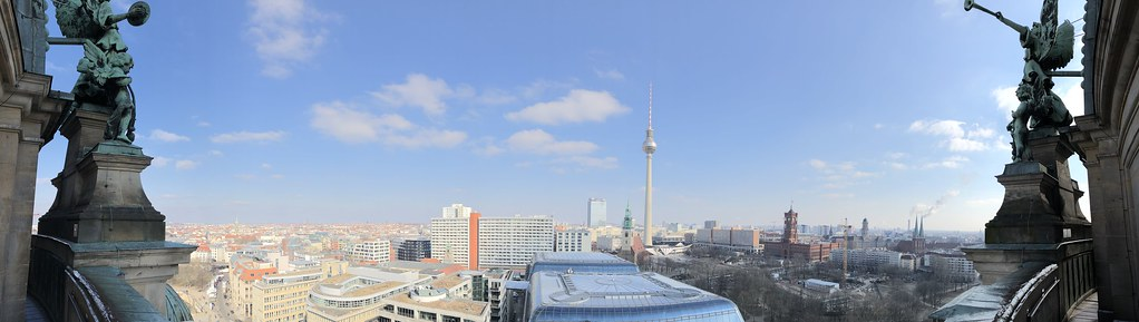 Berlin from the Cathedral Church Dome