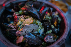 Mussels in Brussels at Chez Leon