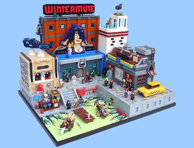 LEGO Cyberpunk City
