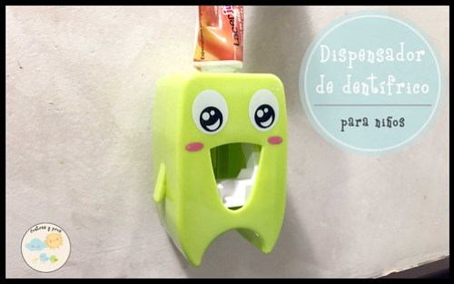 Dispensador de dentífrico para niños