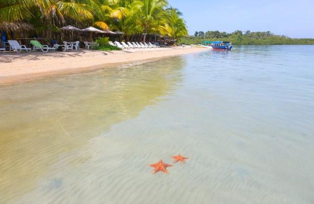 Playa Estrella en Panama