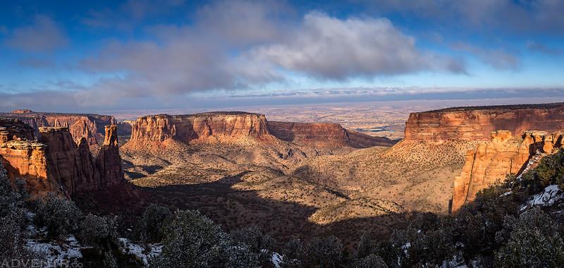 Monument Canyon Panorama