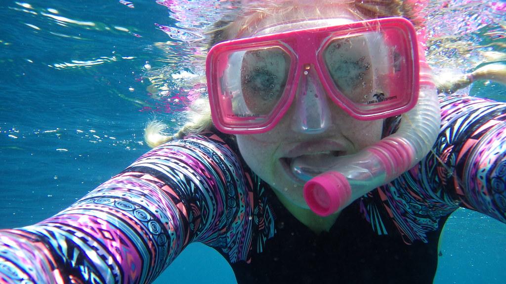 snorkelling Gili