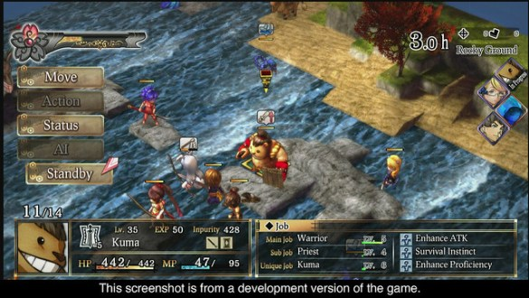 God Wars The Complete Legend - Combat
