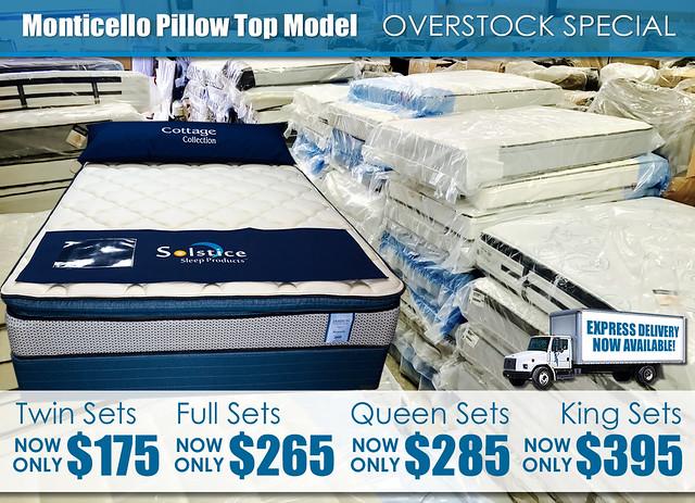 Monticello Pillow Top Model