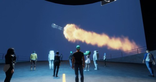 Falcon 9 in action