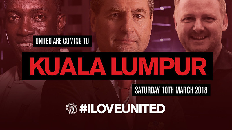 Manchester United Membawakan #ILOVEUNITED ke Malaysia