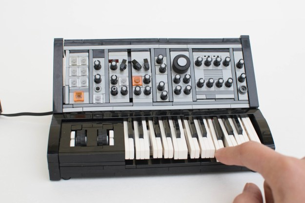 Synthesize Your Own Lego Moog Sub Phatty Instructions The