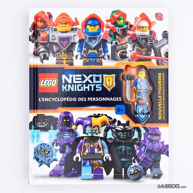 Review Livre LEGO : l'Encyclopédie des personnages Nexo Knights