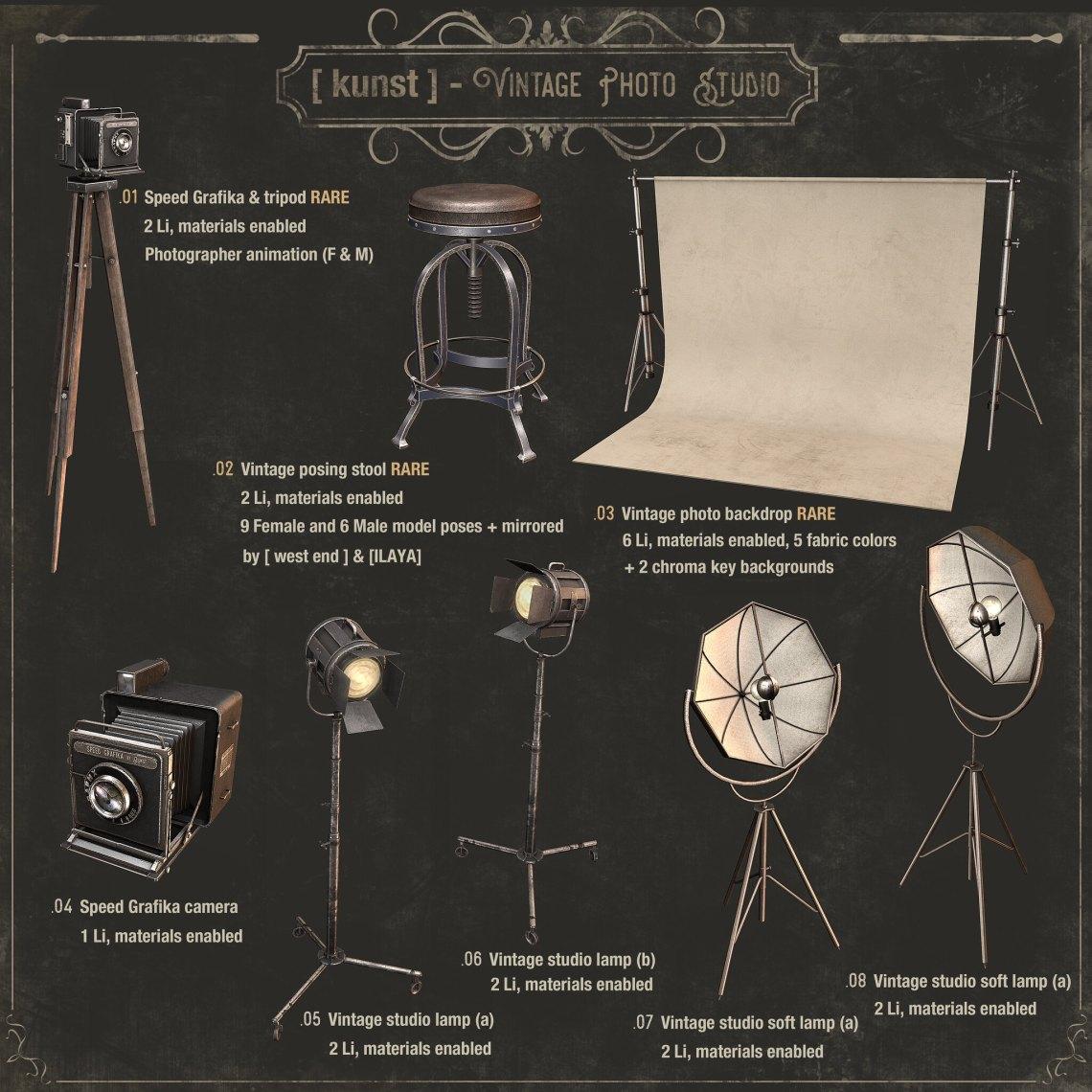 [ kunst ] - Vintage Photo Studio