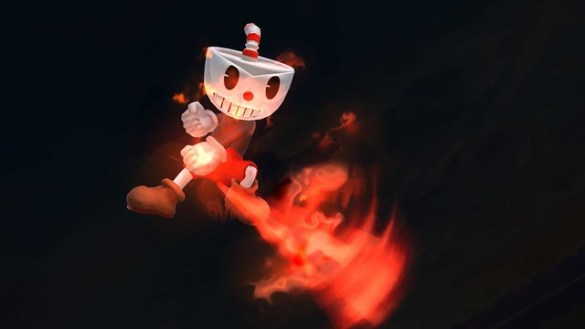 Super Smash Bros - Cuphead 4