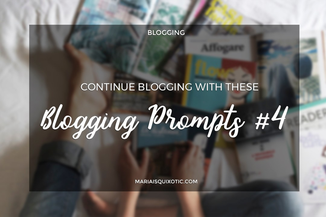 New Year's Blogging Prompts