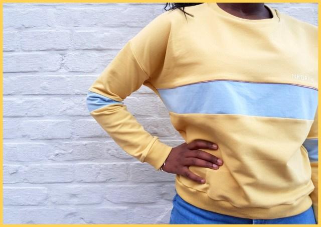 colourblock sweater 1
