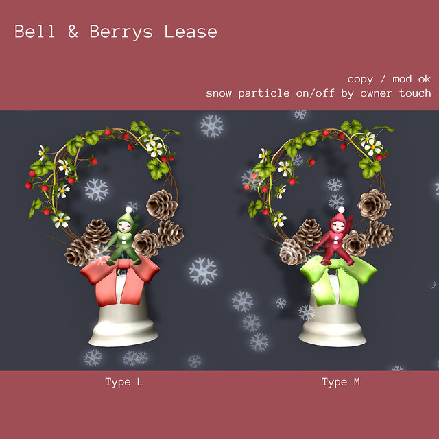 *NAMINOKE*Bell&Berry Lease