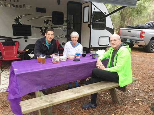 Happy Hour at Parker RV at Suwannee River State Park