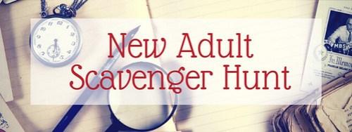 New Adult Scavenger Hunt banner 2017 #NewASH