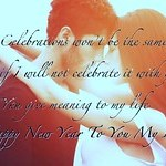Happy New Year SMS for Lover....