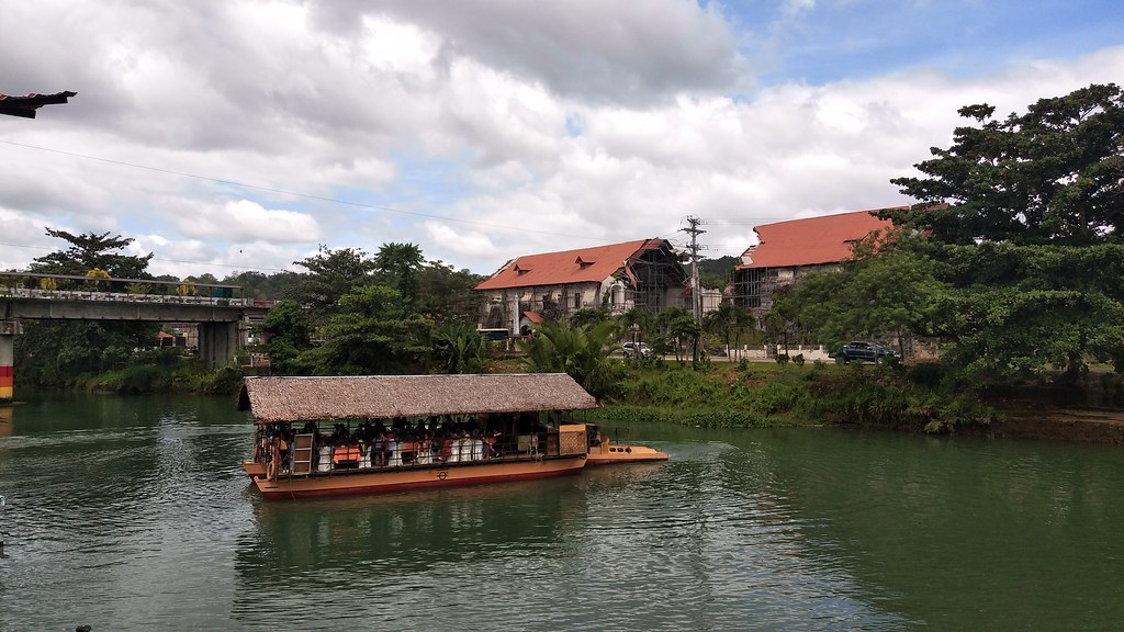 Loboc river loboc church bohol
