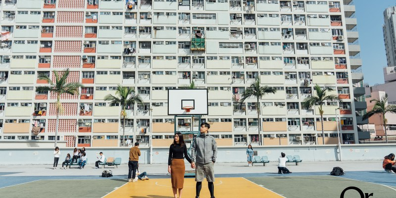 香港攝影景點 港鐵彩虹站的彩虹邨,超好拍的香港必來打卡點,保證殺光記憶卡