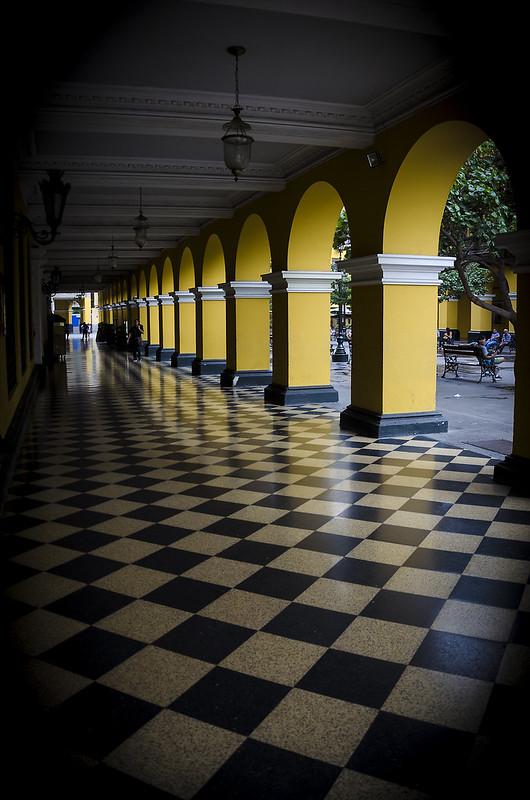 Soportales de la Plaza de Armas de Lima