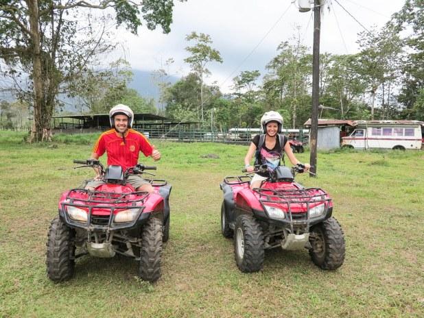 ATV en La Fortuna