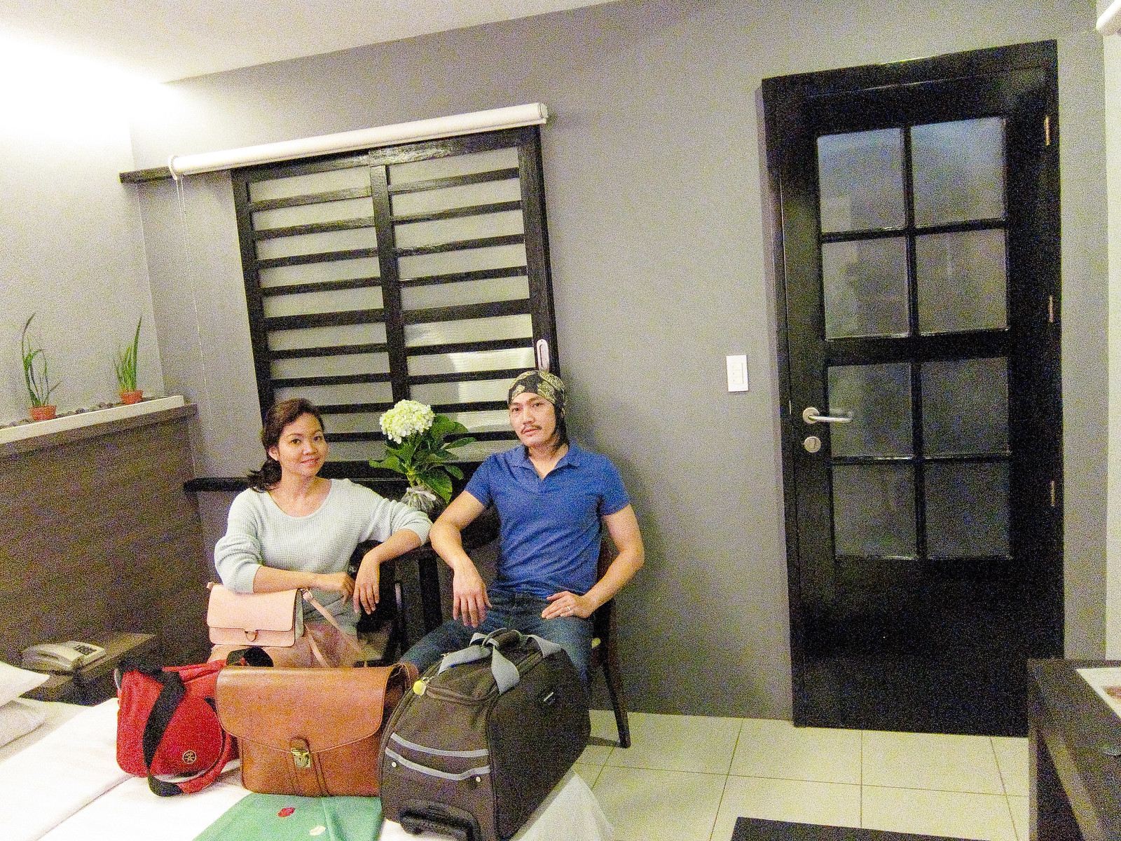 Brian & Jaycelle at T House Tagaytay