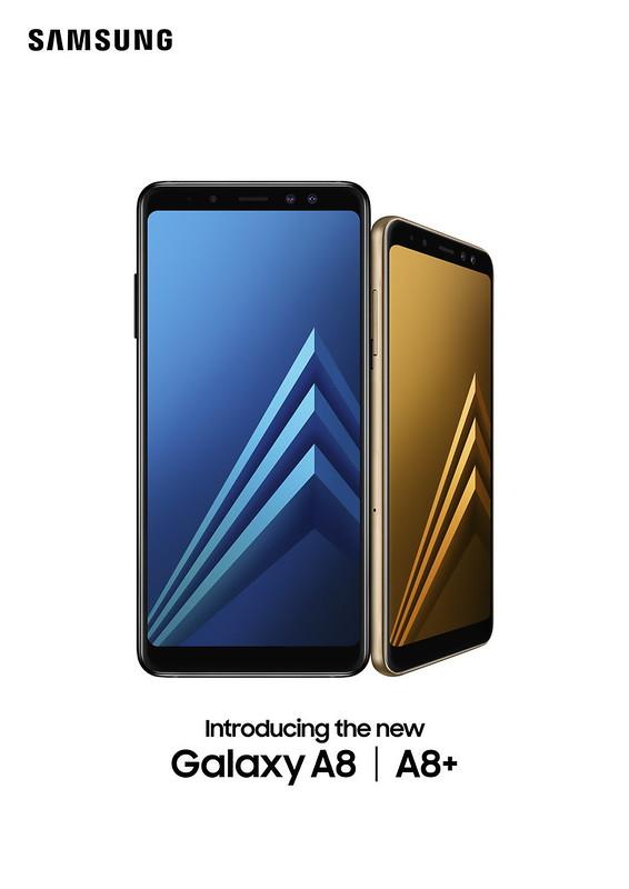 Galaxy A8 (2018) A8+(2018) 產品照1