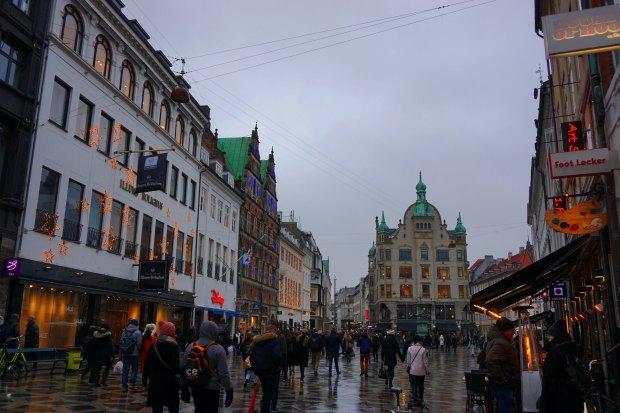 Copenhagen - Strøget, main shopping street