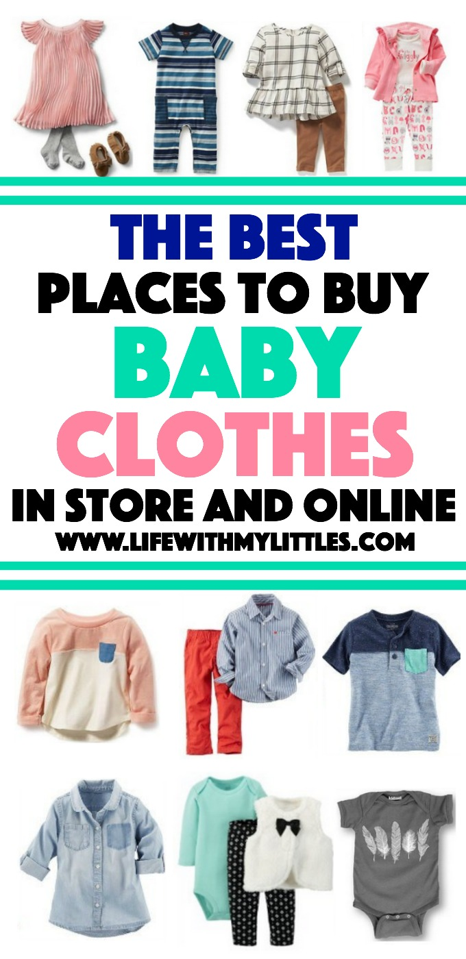 The Best Places to Buy Baby Clothes {In Store and Online ...