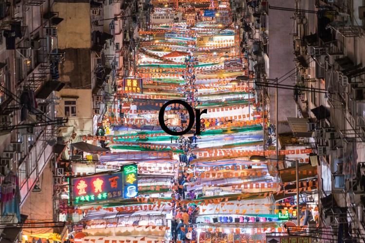 香港攝影景點|油麻地廟街夜景是來到香港不能錯過的,新舊文化的衝擊,廟街讓你回到舊時香港