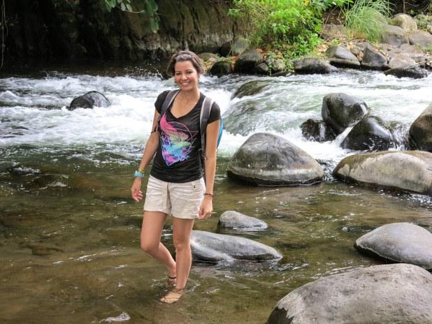 Río en Costa Rica
