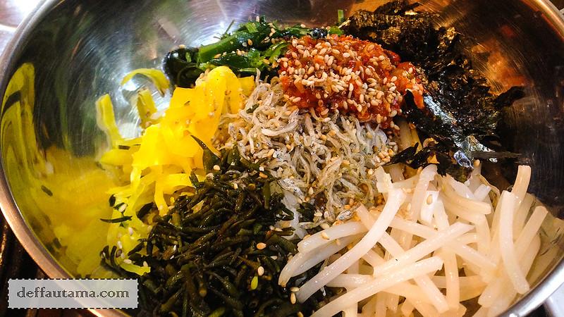 5 hari di Seoul - Myeolchi Bap