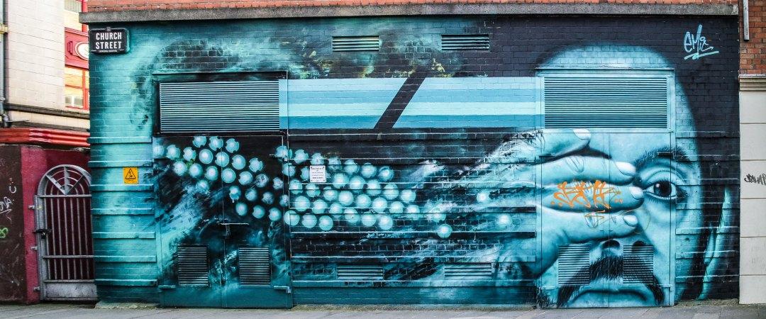 Street art a Belfast