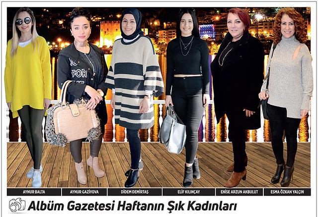 Aynur Balta, Aynur Gaziyova, Didem Demirtaş, Elif Kılınçay, Enise Arzun Akbulut, Esma Özkan Yalçın